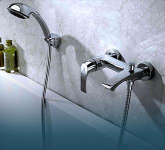 Фото категории Смесители для ванны