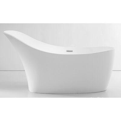 Акриловая ванна ABBER AB9245 169x75