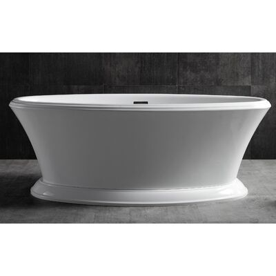 Акриловая ванна ABBER AB9289 170x80