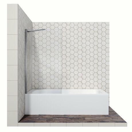 Шторка для ванны Ambassador Bath Screens 16041103 80