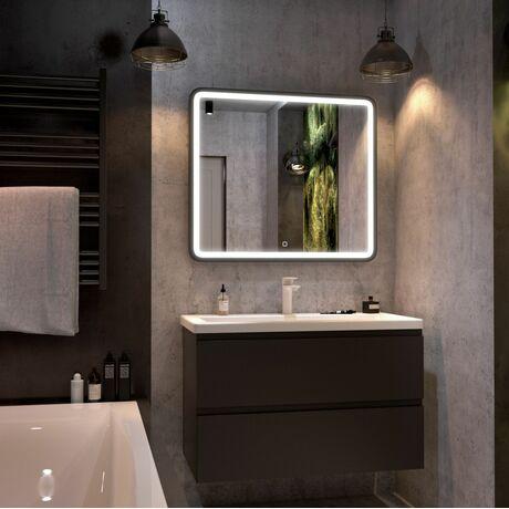 Мебель для ванной Art&Max Bianchi 100 Серый Матовый