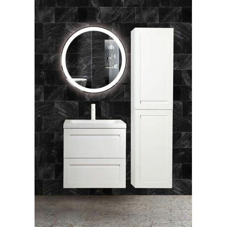 Шкаф-пенал подвесной Art&Max AM-Platino-1500-2A-SO-BL-L/R