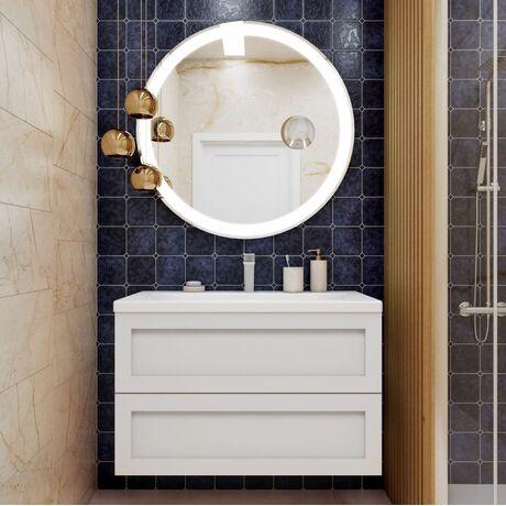 Мебель для ванной Art&Max Platino 90 Белый Глянец