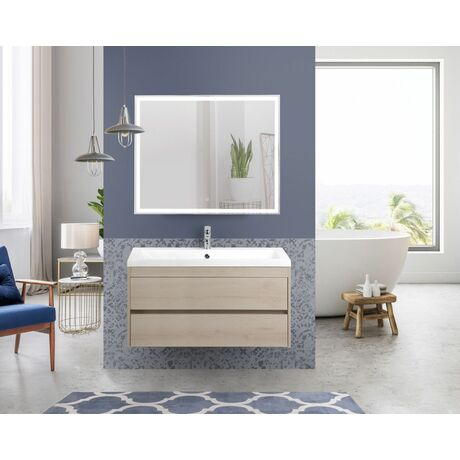 Мебель для ванной Art&Max Family 100 Pino Bianco