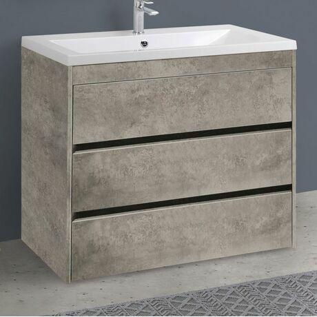 Мебель для ванной Art&Max Family 100 Cemento Veneto напольная