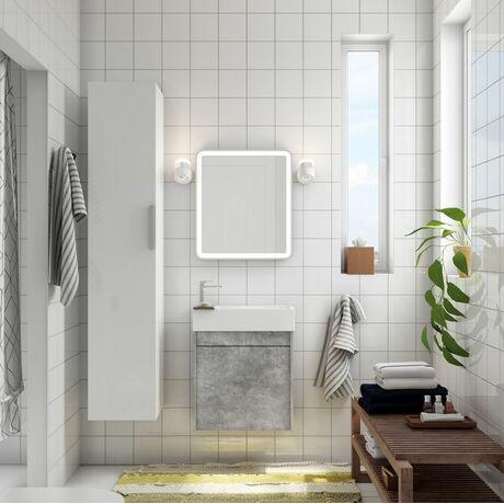 Мебель для ванной Art&Max Family 40 Cemento Veneto с 1 распашной дверцей