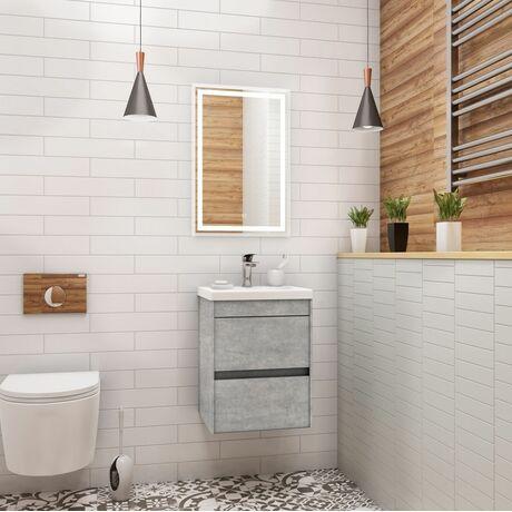 Мебель для ванной Art&Max Family 40 Cemento Veneto