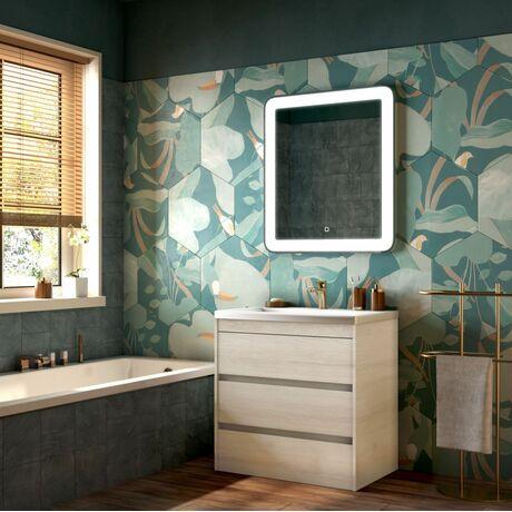 Мебель для ванной Art&Max Family 75 Pino Bianco напольная
