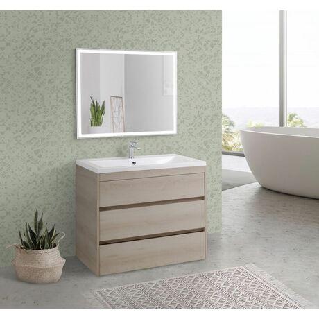 Мебель для ванной Art&Max Family 90 Pino Bianco напольная