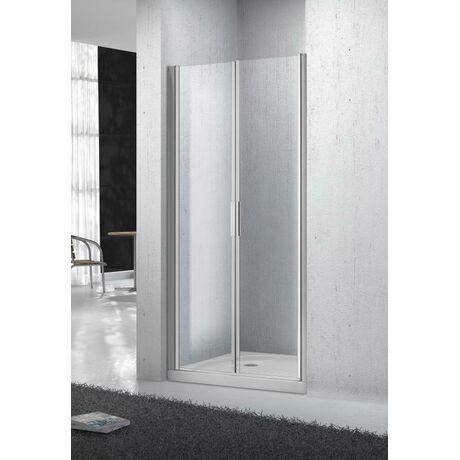 Душевая дверь в нишу Belbagno SELA-B-2-110-Ch-Cr