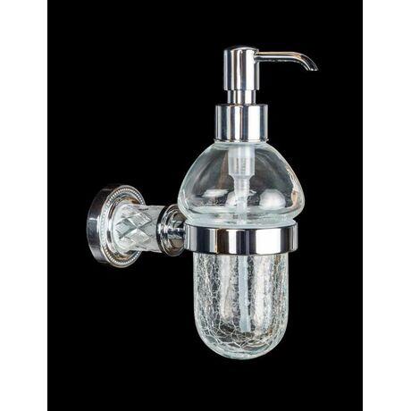 Дозатор для жидкого мыла Boheme Murano Crystal 10912-CRST