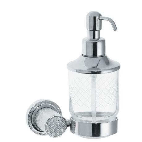 Дозатор для жидкого мыла Boheme Royal Cristal 10932