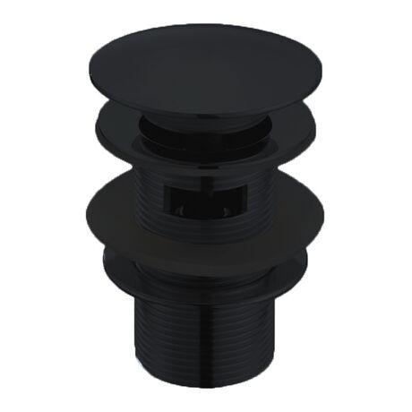 Донный клапан Boheme Black 612-B/2 с переливом
