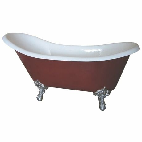 Ванна Magliezza Gracia Red 170x76 (ножки хром)