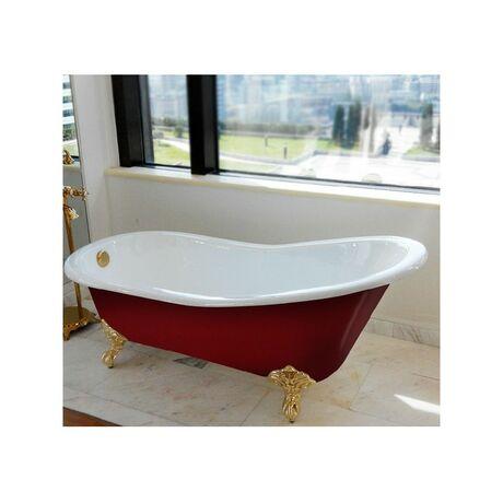 Ванна Magliezza Gracia Red 170x76 (ножки золото)