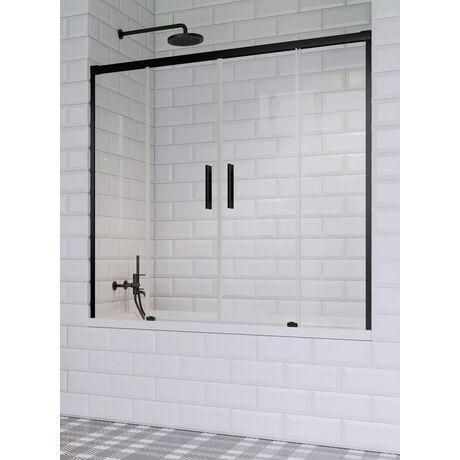 Шторка на ванну Radaway Idea Black PN DWD 140