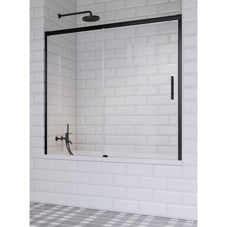 Шторка на ванну Radaway Idea Black PN DWJ 140