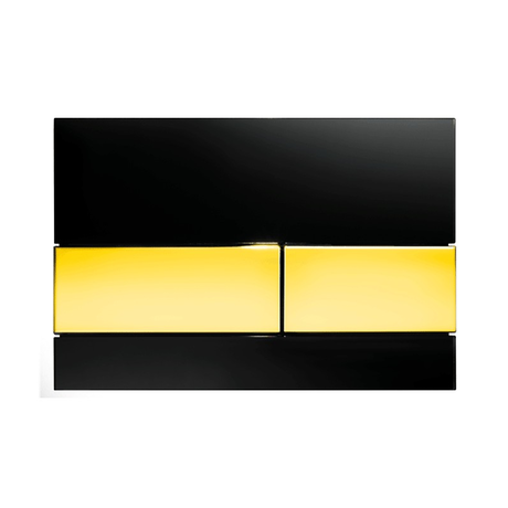 Клавиша смыва TECE Square 9240808, черный/золото