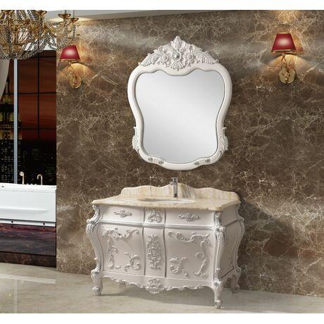 Мебель для ванной Tessoro WINDSOR Белый с серебром